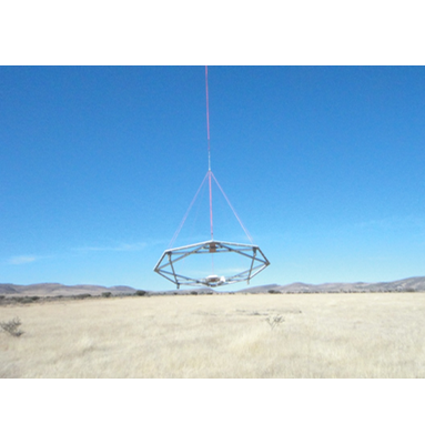 Airborne time domain electromagnetic in prospecting service