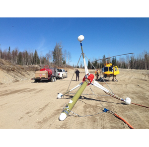 Aeromagnetic survey service
